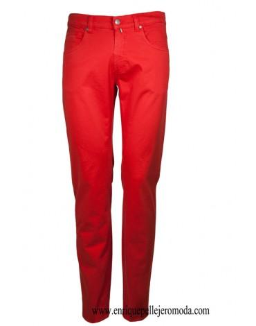Pertegaz pantalón cinco bolsillos rojo