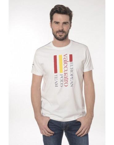 Valecuatro camiseta blanca España