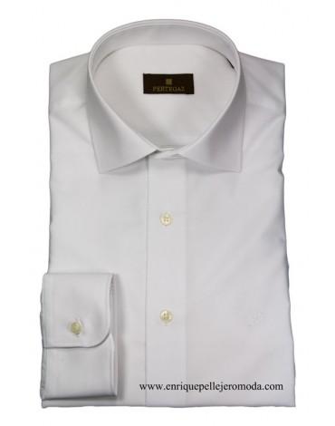 Pertegaz camisa blanca vestir
