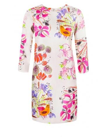 Vilagallo vestido estampado floral