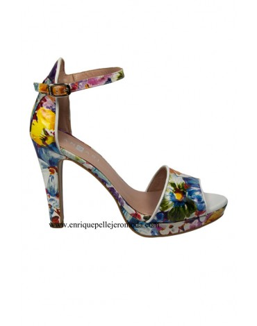 Angari zapatos estampados flores