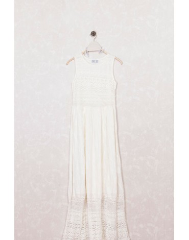 MdM vestido blanco largo