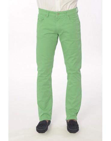 Valecuatro pantalón verde cinco bolsillos