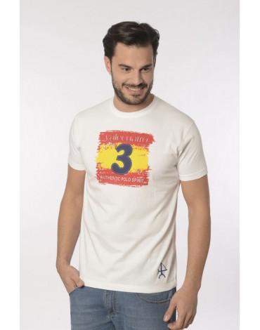 Valecuatro camiseta España vintage blanca
