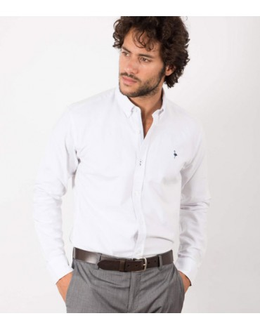 El Flamenco camisa blanca
