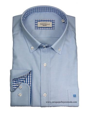 Pertegaz sport camisa celeste