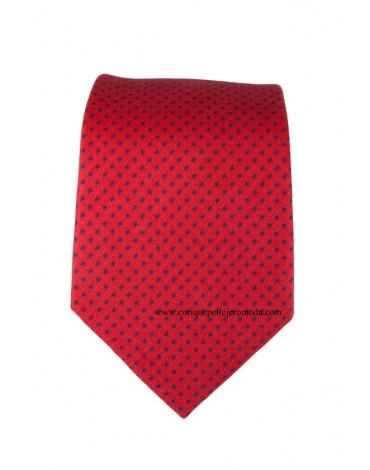 Pertegaz corbata roja topito azul