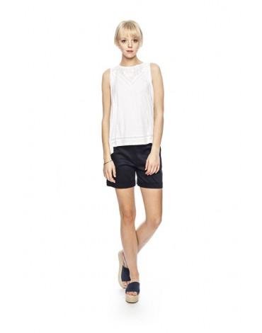 MdM camiseta blanca encaje