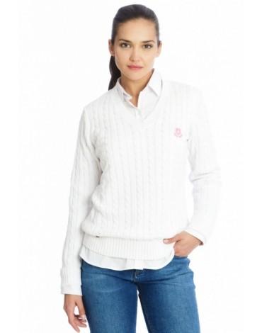 Valecuatro jersey pico blanco