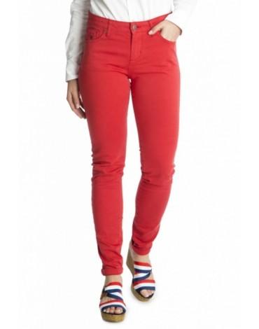 Valecuatro pantalón cinco bolsillos rojo