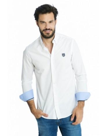 Valecuatro camisa clásica blanca