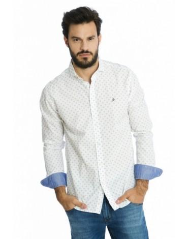 Valecuatro camisa clásico fantasia blanca