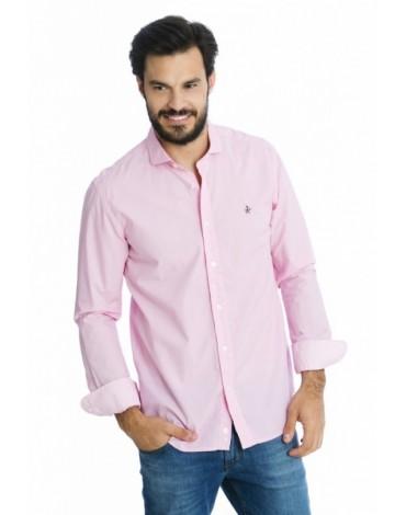 Valecuatro camisa clásica fantasia rosa
