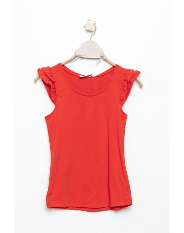 MdM camiseta roja volante