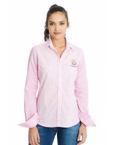 Valecuatro camisa rayas ladies rosa