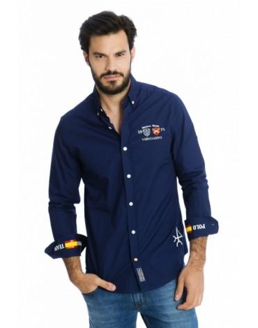 Valecuatro camisa España azul marino