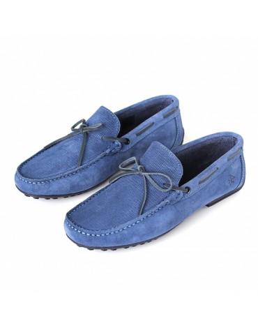 Valecuatro zapatos indio azul jeans