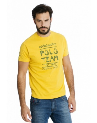 Valecuatro camiseta amarilla polo team