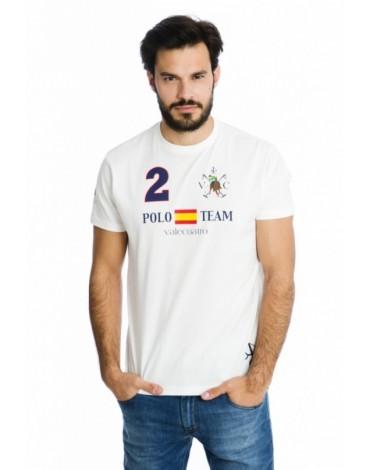 Valecuatro camiseta España blanca team