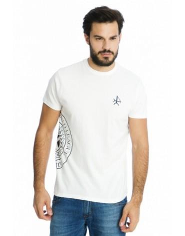 Valecuatro camiseta blanca logo