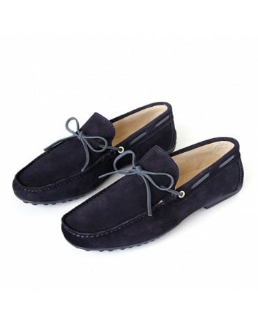 Valecuatro zapatos indio azul marino