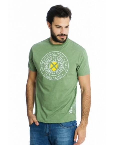 Valecuatro camiseta verde escudo