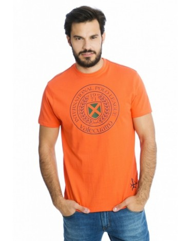 Valecuatro camiseta coral escudo