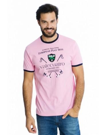 Valecuatro camiseta rosa tacos