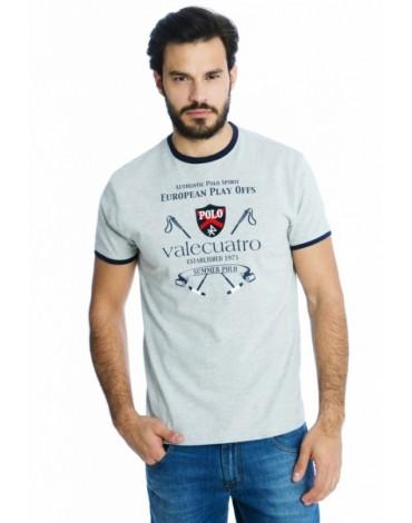 Valecuatro camiseta gris tacos