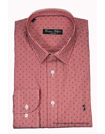 Red striped anchor shirt Enrique Pellejero