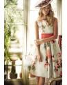 Matilde Cano vestido corto estampado floral