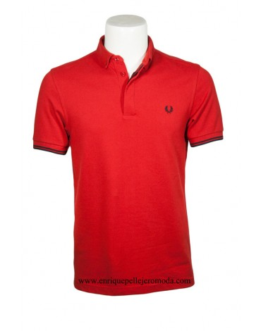 Fred Perry polo rojo