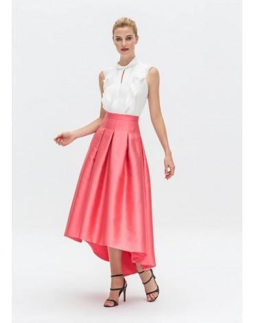 Laura Bernal blusa blanca