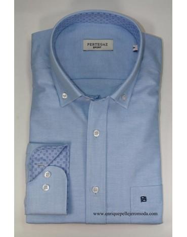 Pertegaz camisa celeste
