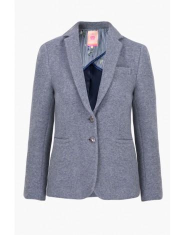 Vilagallo chaqueta gris lana