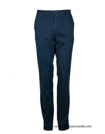 Pertegaz pantalón azul marino algodón