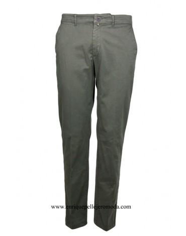 Pertegaz pantalón algodón marrón claro