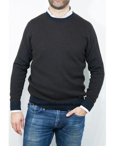Pertegaz jersey dibujo cuello redondo