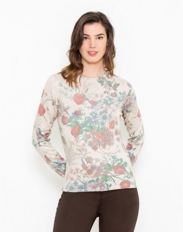 Escorpion jersey estampado floral