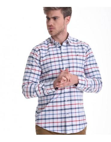 El Flamenco camisa oxford de cuadros