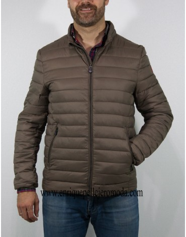 Pertegaz brown quilted jacket