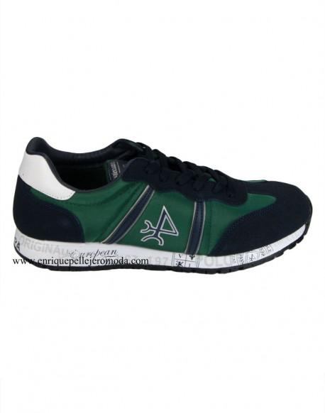 Valecuatro hombre zapatillas verdes