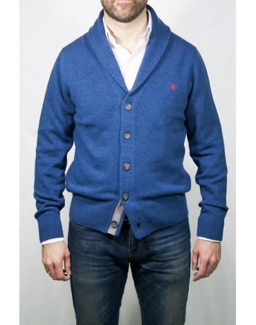 Pertegaz chaqueta cárdigan azul