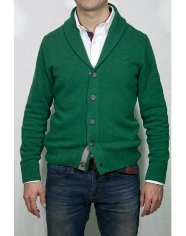 Pertegaz chaqueta cárdigan verde