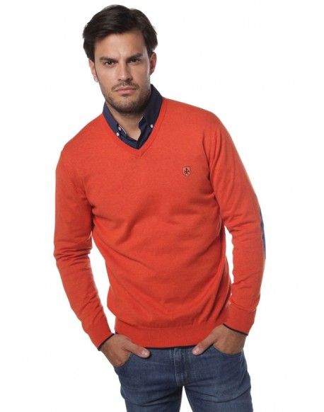 Valecuatro jersey pico naranja