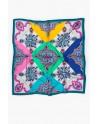 Vilagallo foulard estampado de seda