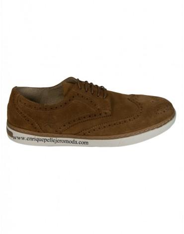 Valecuatro zapatos picados marrones