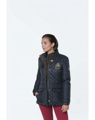 Valecutro husky jacket navy blue