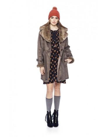 MdM abrigo color granito