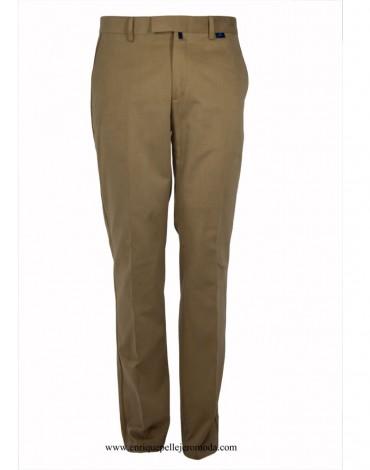 Pertegaz pantalón camel perfil marrón